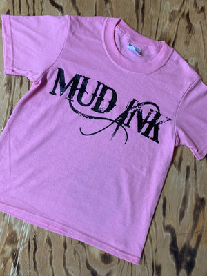 Candy Pink Mud Ink Short Sleeve
