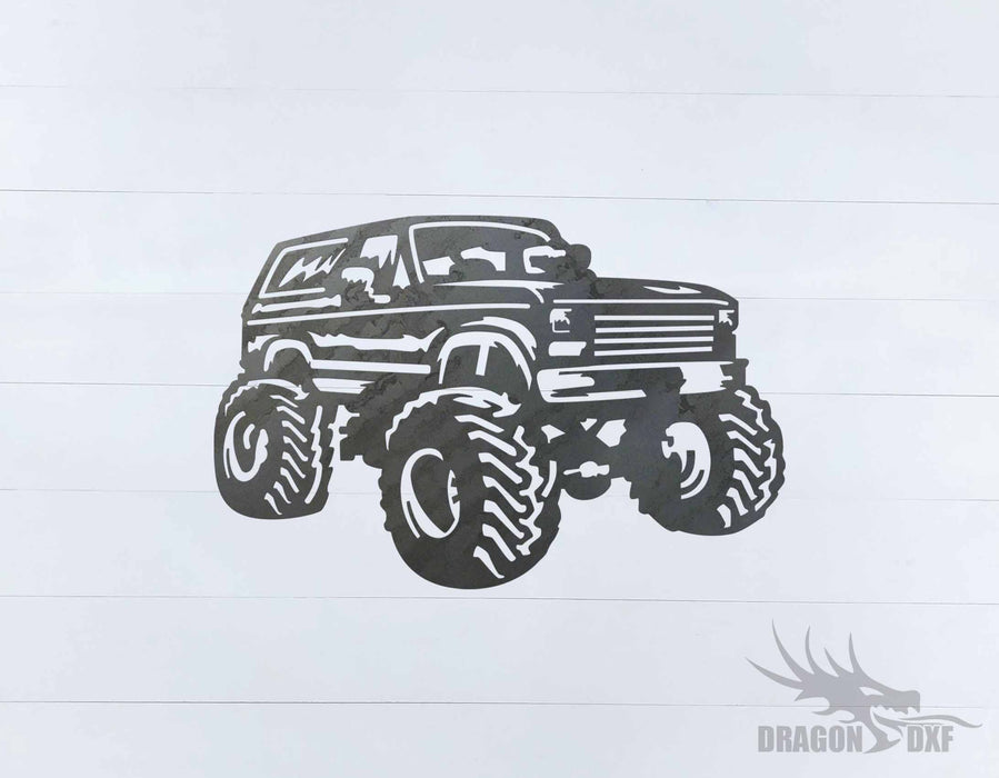 Ford Bronco Package (98 Designs) - Plasma Laser DXF Cut File