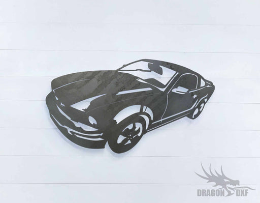 2006 Ford Mustang GT Deluxe - DXF Download