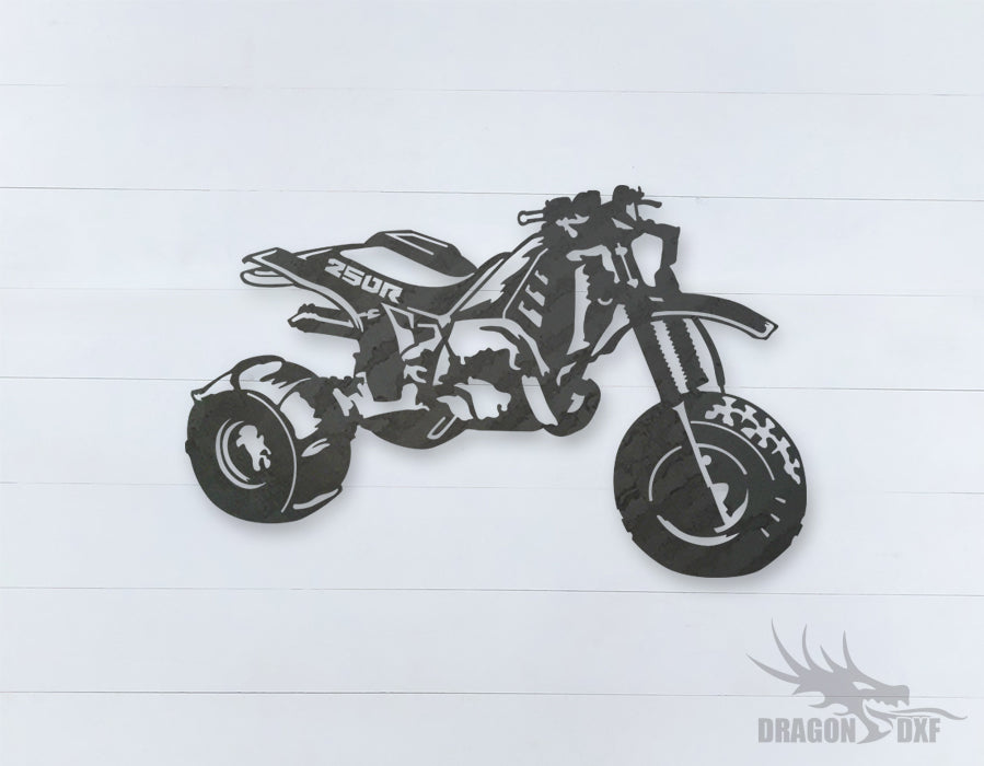 250r motorcycle - DXF Download