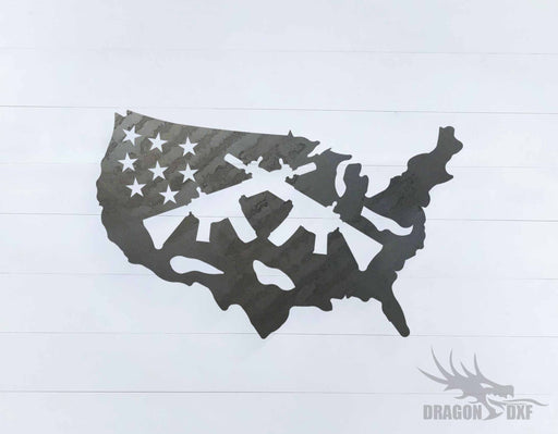 2nd amendment sign 42 - DXF Download