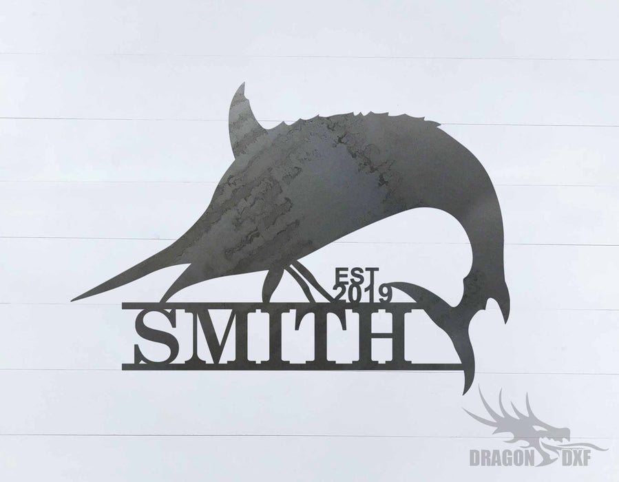 Animal Address Sign 16 - DXF Download