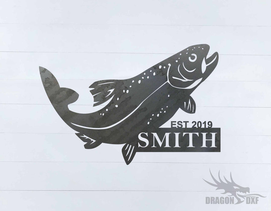 Animal Address Sign 17 - DXF Download