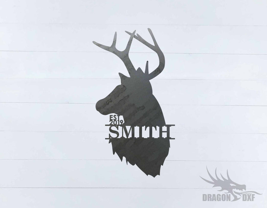Animal Address Sign 1 - DXF Download