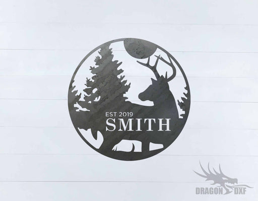 Animal Address Sign 3 - DXF Download