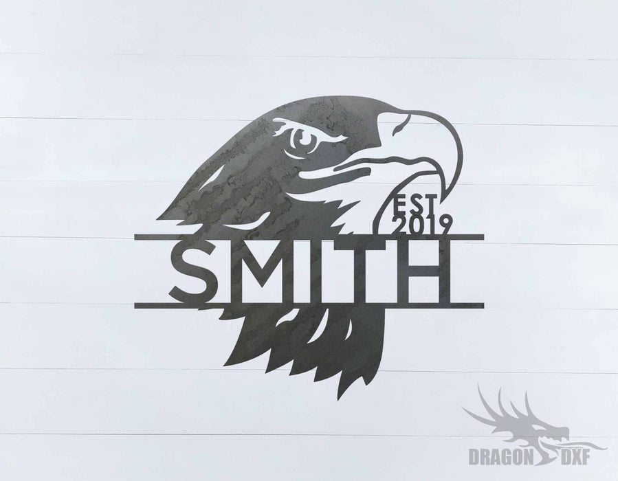 Animal Address Sign 7 - DXF Download