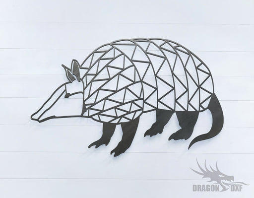 Armadillo - Geometric - Deco - Animals -  DXF Download