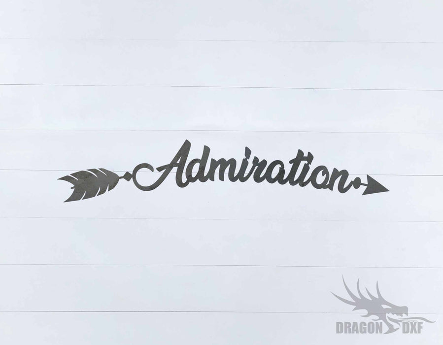 Arrow Design - Admiration - DXF Download