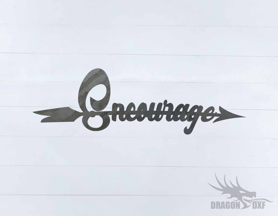 Arrow Design - Encourage - DXF Download