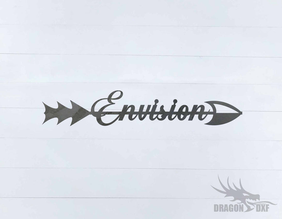 Arrow Design - Envision - DXF Download