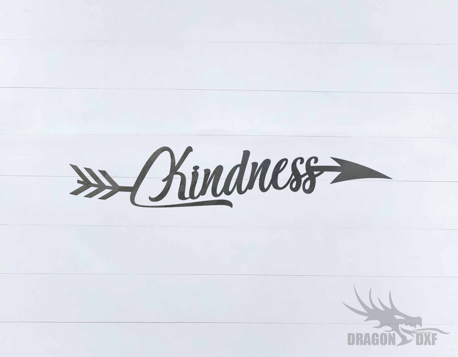 Arrow Design - Kindness - DXF Download