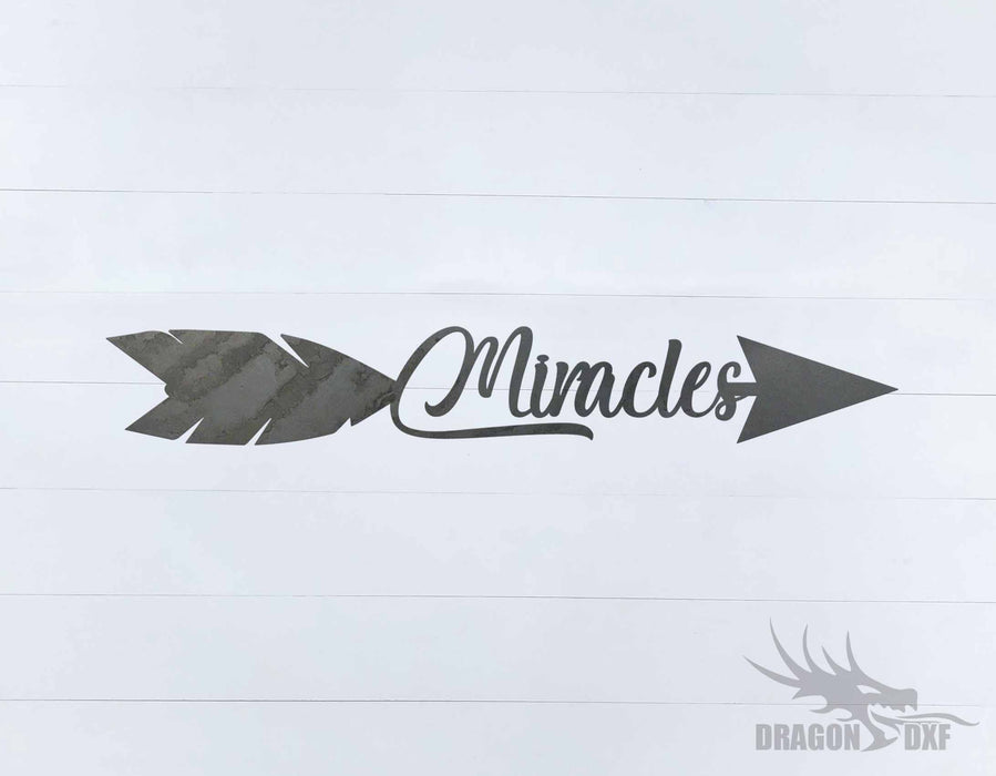 Arrow Design - Miracles - DXF Download