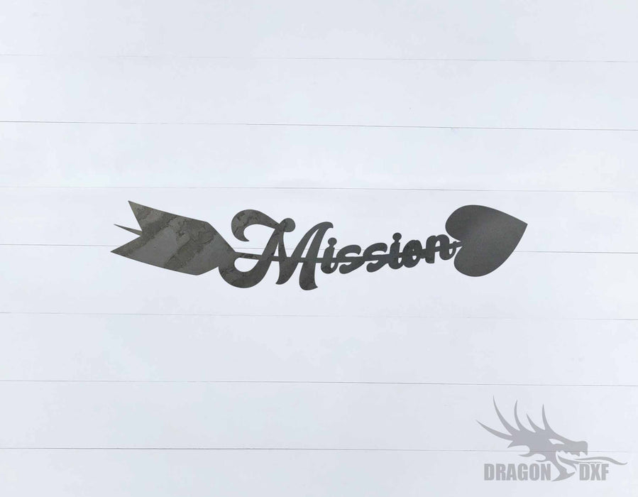 Arrow Design - Mission - DXF Download