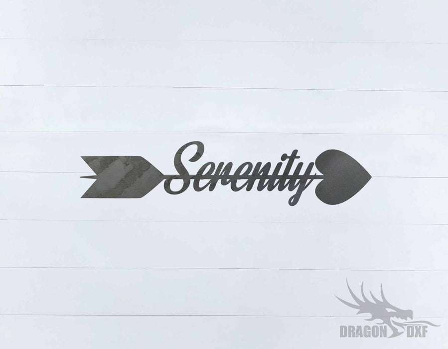 Arrow Design - Serenity - DXF Download