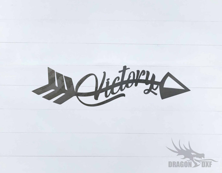 Arrow Design - Victory - DXF Download
