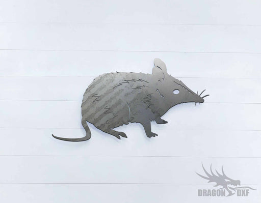 Australian Animals - Bandicoot - DXF Download