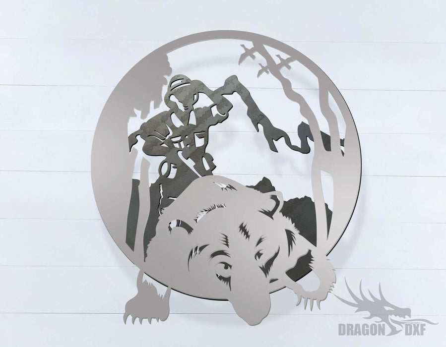 Bear Hunting - DXF Download