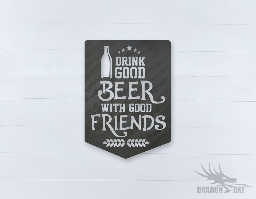 Beer Quote Sign 3 - DXF Download