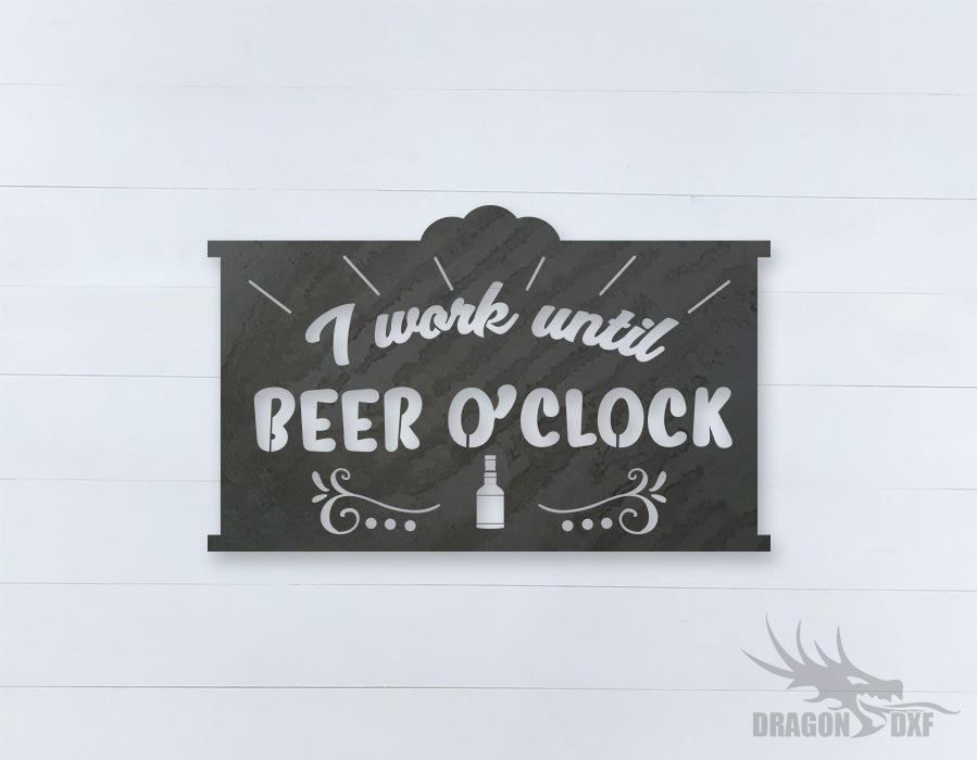 Beer Quote Sign 7 - DXF Download