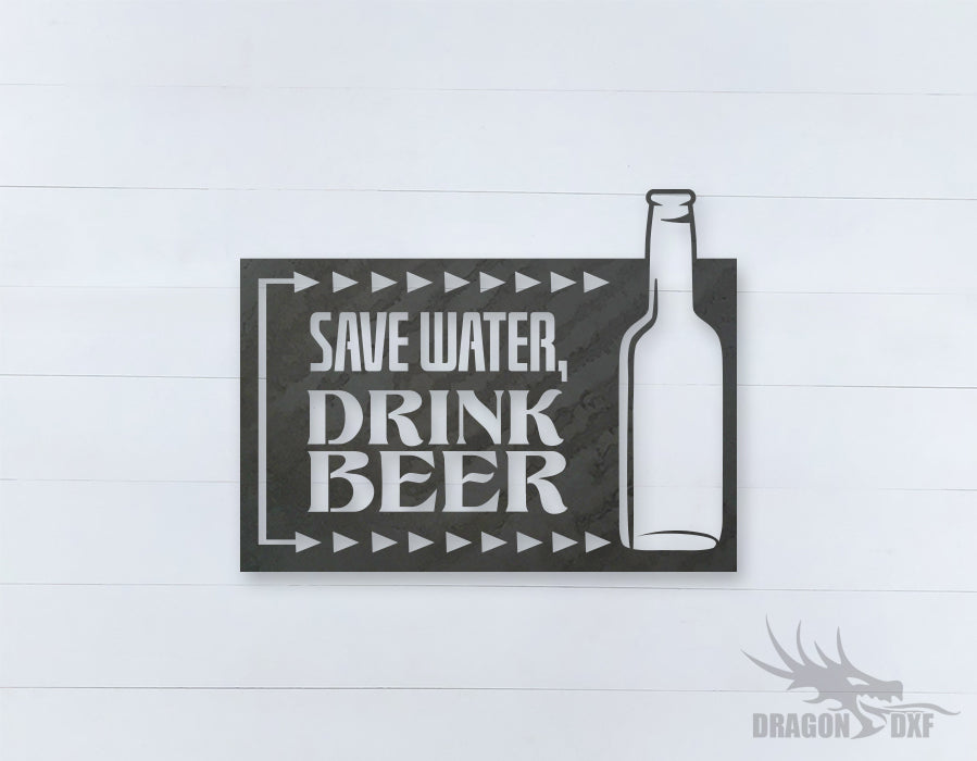 Beer Quote Sign 8 - DXF Download