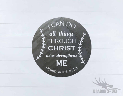 Bible Verse 7  - DXF Download