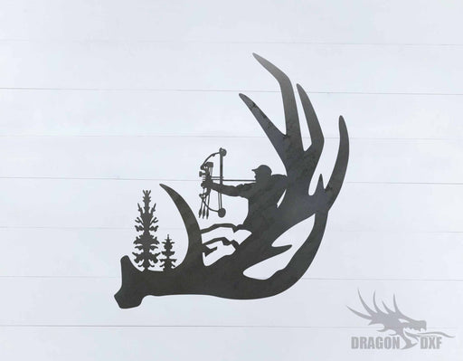 Bow Hunting Design 10 - DXF Download