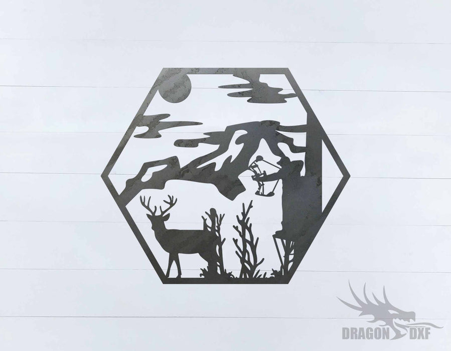 Bow Hunting Design 11 - DXF Download