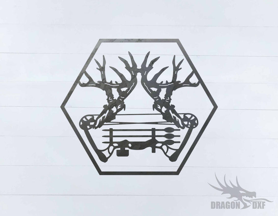 Bow Hunting Design 15 - DXF Download
