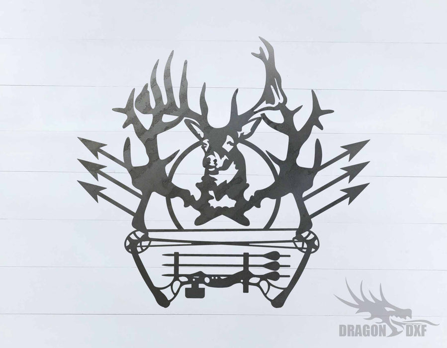 Bow Hunting Design 17 - DXF Download