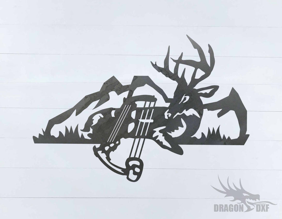 Bow Hunting Design 18 - DXF Download