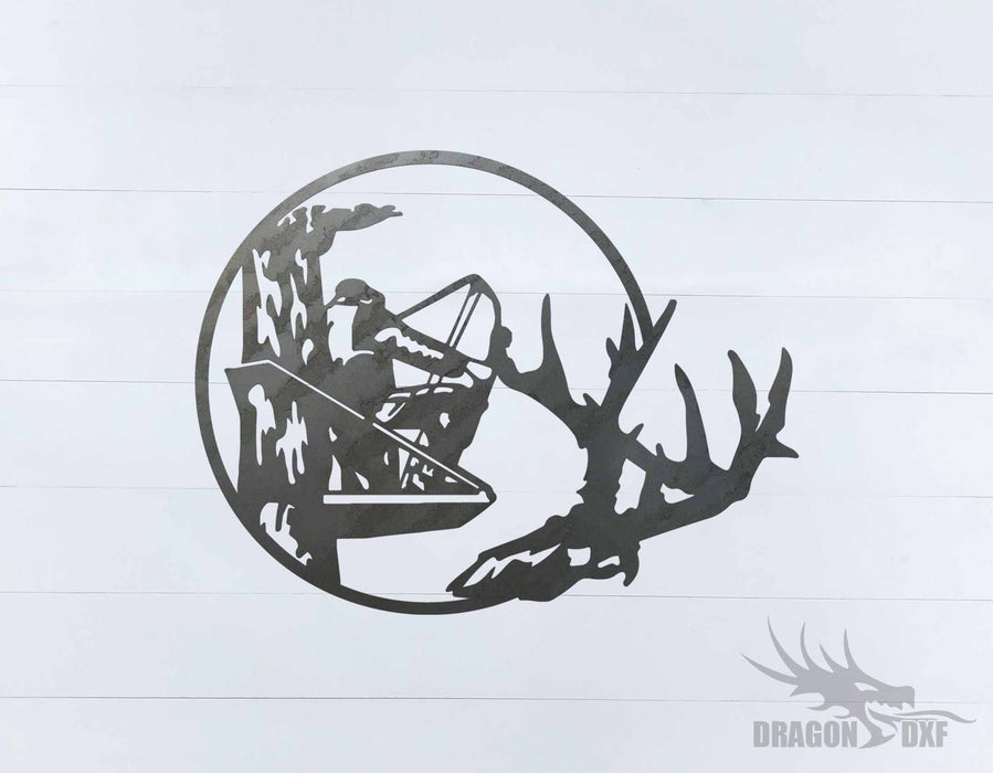 Bow Hunting Design 2 - DXF Download