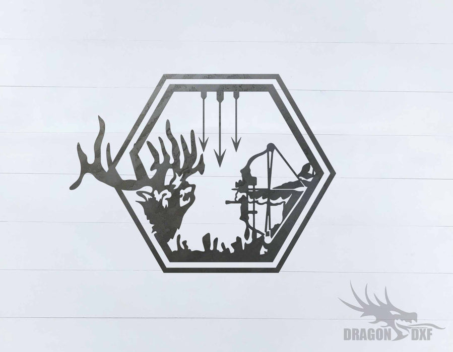 Bow Hunting Design 3 - DXF Download