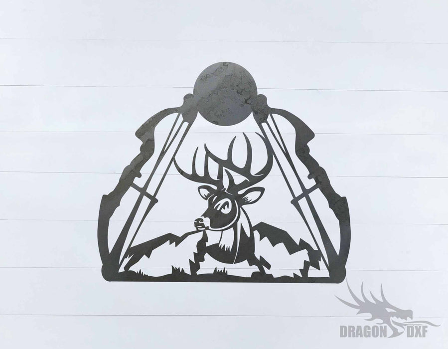 Bow Hunting Design 4 - DXF Download