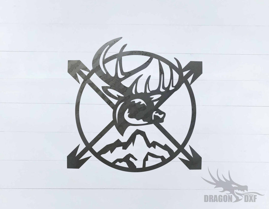 Bow Hunting Design 5 - DXF Download