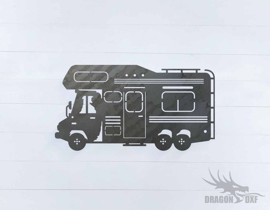 Camper Van Design 11 - DXF Download