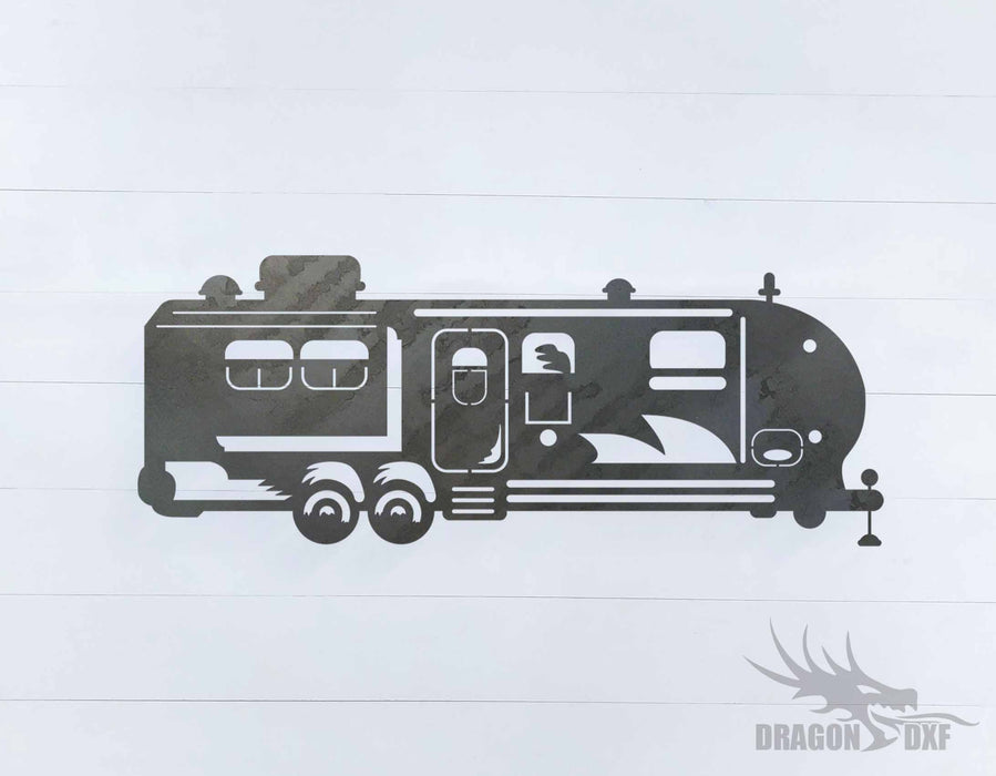 Camper Van Design 12 - DXF Download