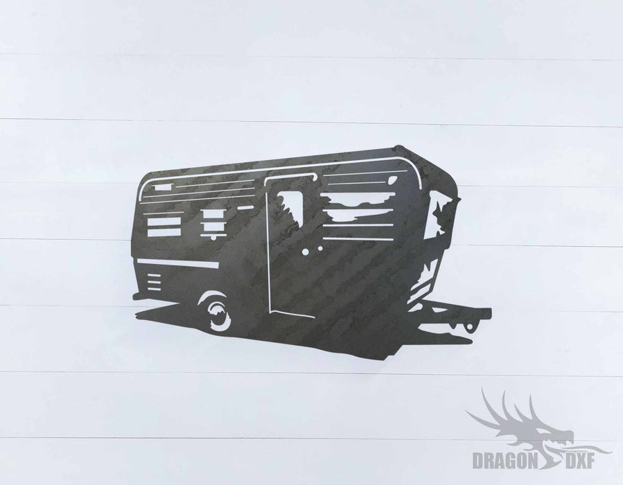 Camper Van Design 13 - DXF Download
