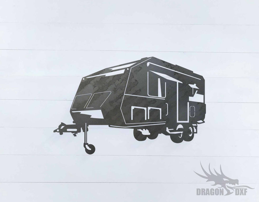 Camper Van Design 15 - DXF Download