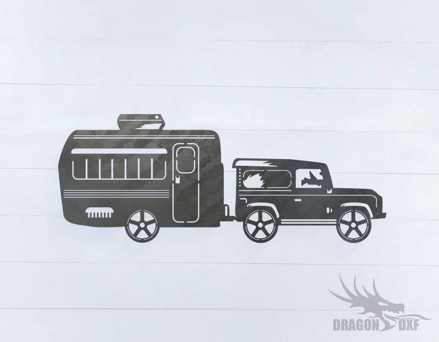 Camper Van Design 16 - DXF Download