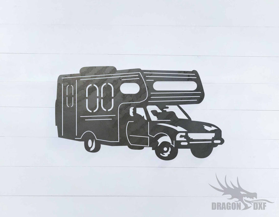 Camper Van Design 18 - DXF Download