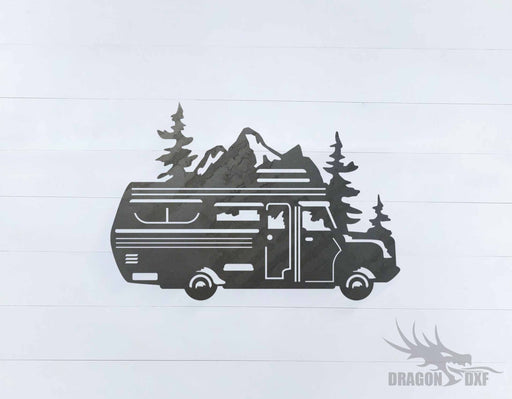 Camper Van Design 20 - DXF Download