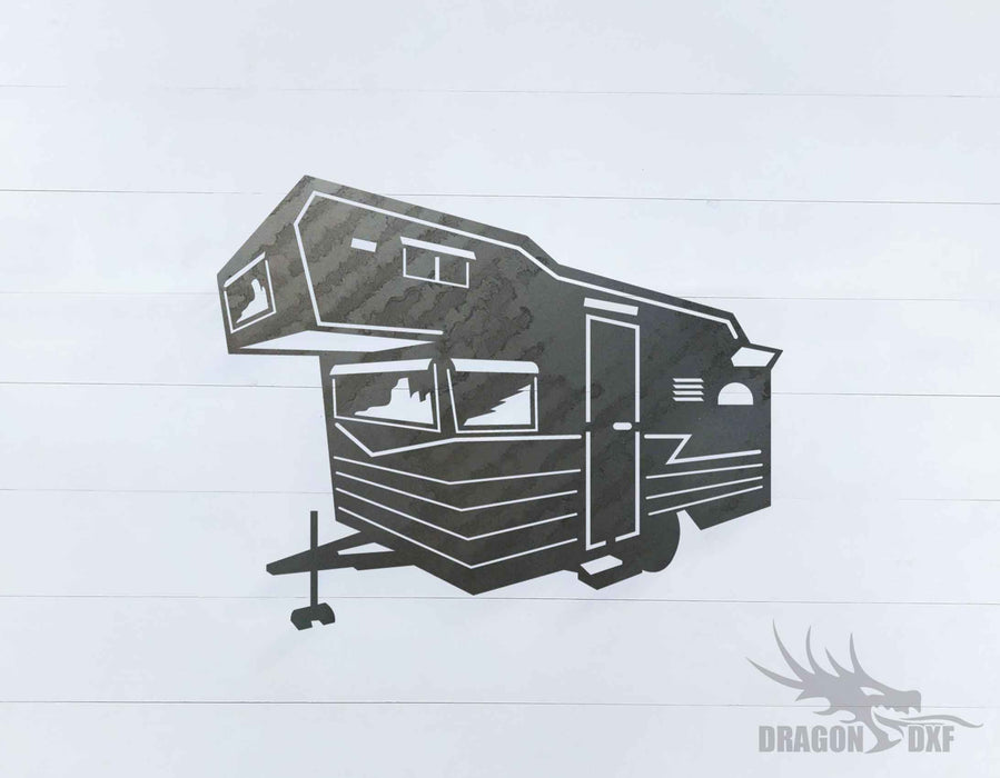 Camper Van Design 2 - DXF Download