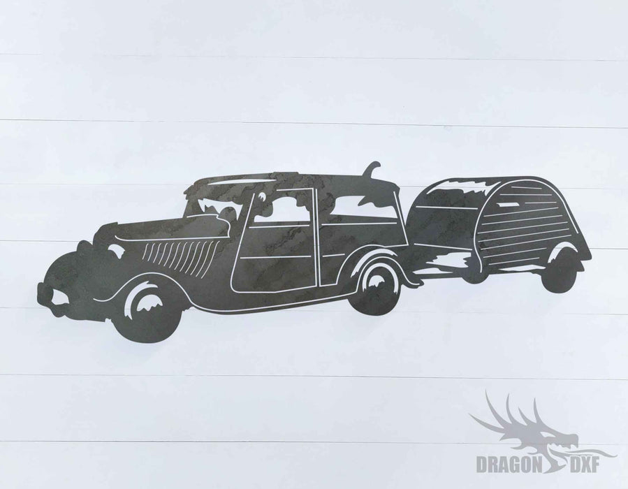 Camper Van Design 5 - DXF Download