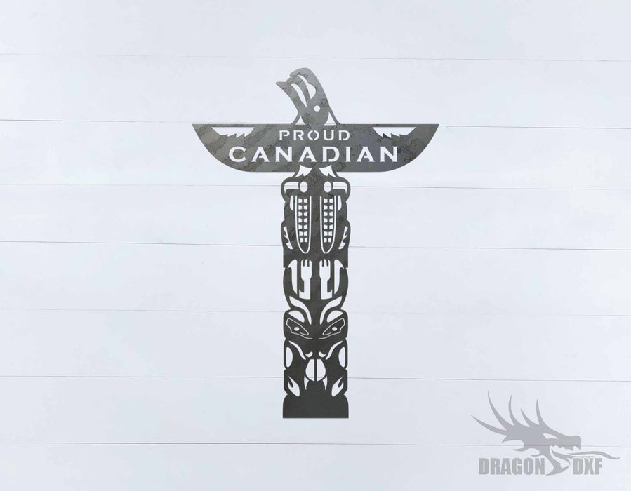Canadian Sign 22 - DXF Download