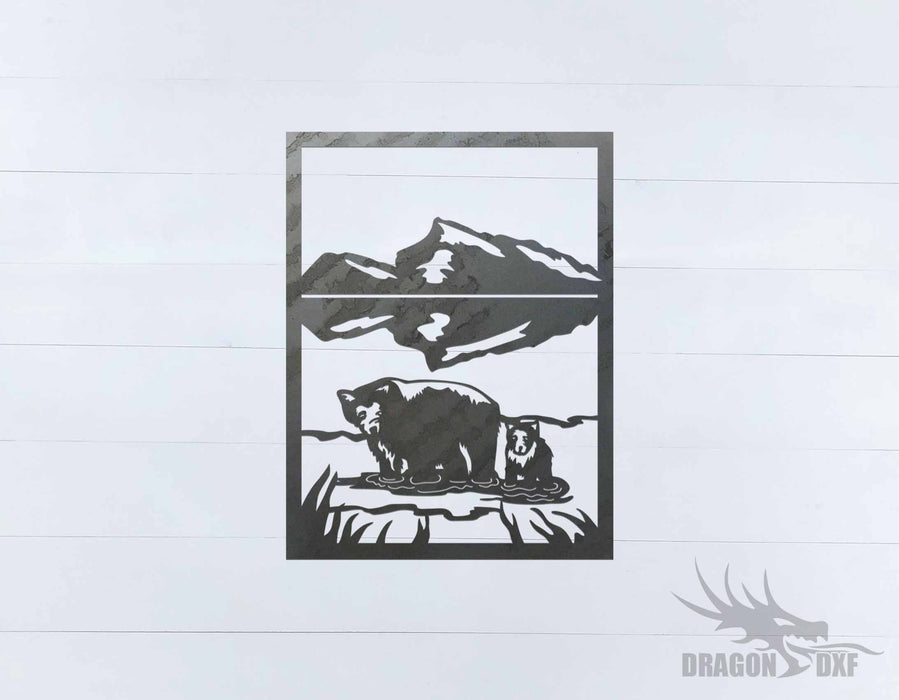 Canadian Sign 29 Banff National Park - DXF Download