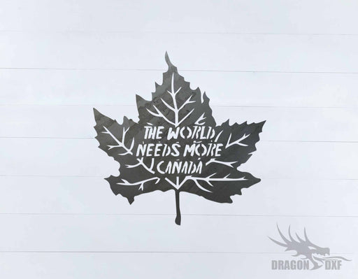 Canadian Welcome Sign 21 - DXF Download
