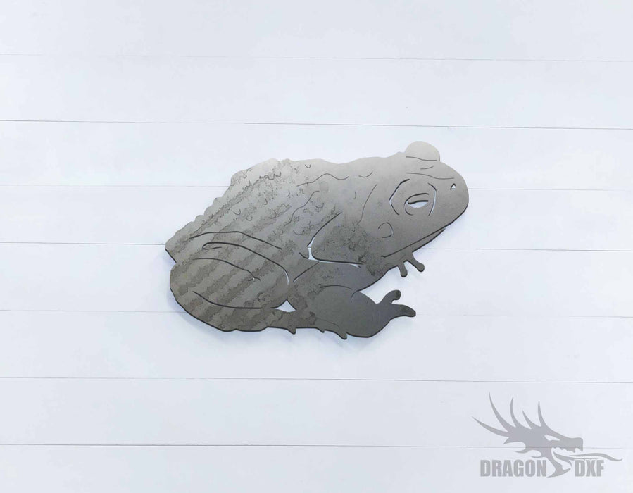Australian Animals - Cane Toad - DXF Download