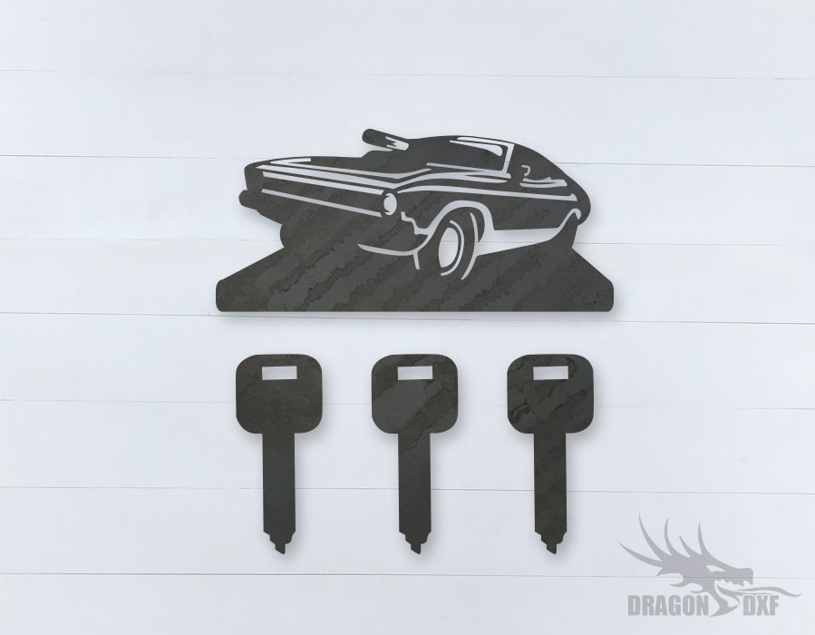Car Wind chime 7  - DXF Download