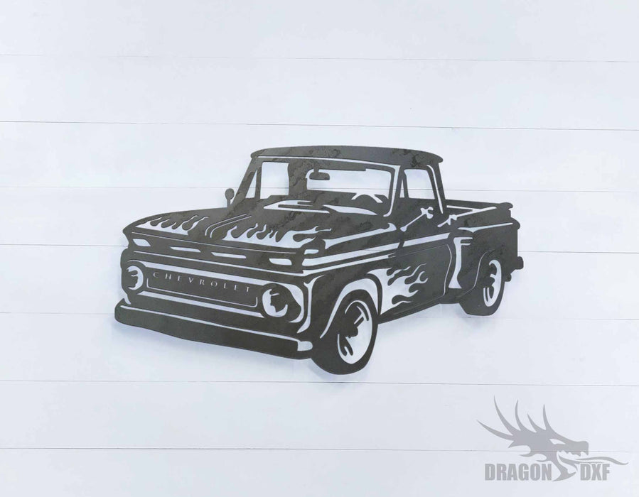 Chevy 1 - DXF Download