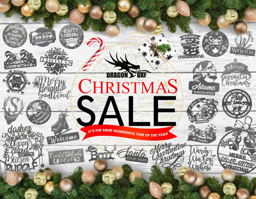 Christmas Bundle 4 (55 Designs) 2020 - DXF Download